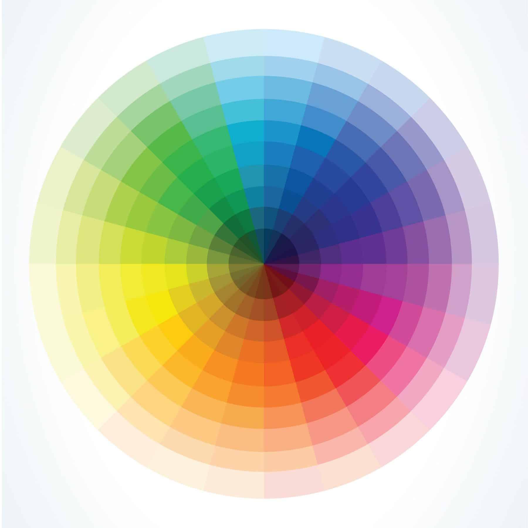 color wheel in graphic design